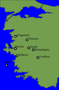 The seven churches of Revelation 2